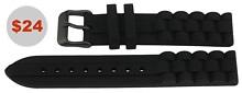 SIlicone Strap in Black for 2000 Series